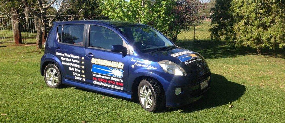 Mobile windscreen repairs Toowoomba